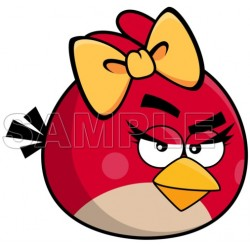 Angry Birds T Shirt Iron on Transfer Decal #9
