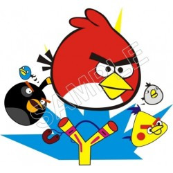 Angry Birds T Shirt Iron on Transfer Decal #91