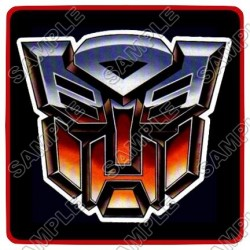 Autobot Logo Transformers T Shirt Iron on Transfer Decal #10