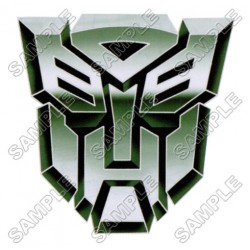 Autobot Logo Transformers T Shirt Iron on Transfer Decal #11