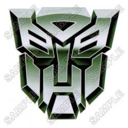 Autobot Logo Transformers T Shirt Iron on Transfer Decal #11