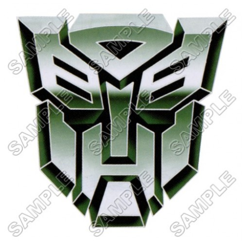 Autobot Logo Transformers T Shirt Iron on Transfer Decal #11 by www.shopironons.com