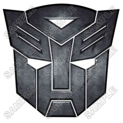 Autobot Logo Transformers T Shirt Iron on Transfer Decal #8