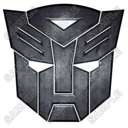 Autobot Logo Transformers T Shirt Iron on Transfer Decal #8