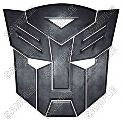 Autobot Logo Transformers T Shirt Iron on Transfer Decal #8 by www.shopironons.com