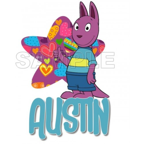 Backyardigans Austin T Shirt Iron on Transfer Decal #8 by www.shopironons.com