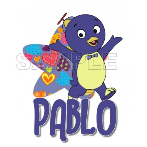 Backyardigans Pablo T Shirt Iron on Transfer Decal #9 by www.shopironons.com
