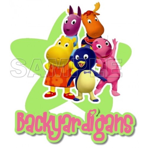 Backyardigans T Shirt Iron on Transfer Decal #1 by www.shopironons.com