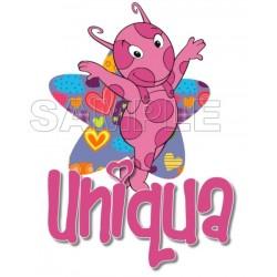 Backyardigans Uniqua T Shirt Iron on Transfer Decal #12