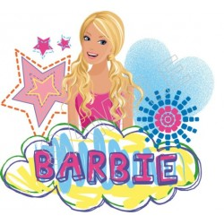 Barbie T Shirt Iron on Transfer Decal #6