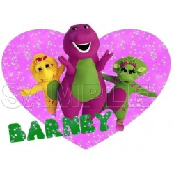 Barney T Shirt Iron on Transfer Decal #6