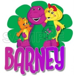 Barney T Shirt Iron on Transfer Decal #8