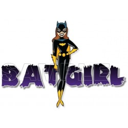 BatGirl T Shirt Iron on Transfer Decal #1