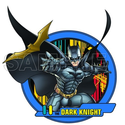 Batman dark Knight T Shirt Iron on Transfer Decal #6 by www.shopironons.com