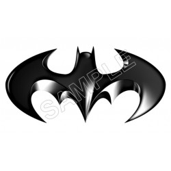Batman Logo T Shirt Iron on Transfer Decal #17