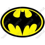 Batman Logo Yellow T Shirt Iron on Transfer Decal #12 by www.shopironons.com