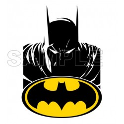 Batman T Shirt Iron on Transfer Decal #10