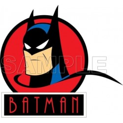 Batman T Shirt Iron on Transfer Decal #11