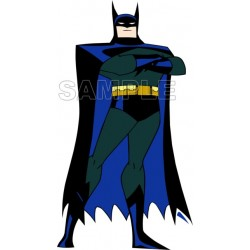 Batman T Shirt Iron on Transfer Decal #9