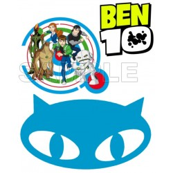 Ben 10 Aliens T Shirt Iron on Transfer Decal #3
