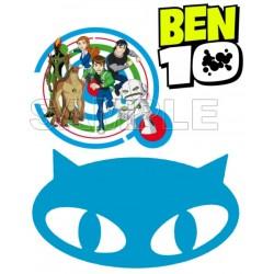 Ben 10 Aliens T Shirt Iron on Transfer Decal #3