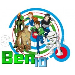 Ben 10 T Shirt Iron on Transfer Decal #12