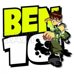 Ben 10 T Shirt Iron on Transfer Decal #13