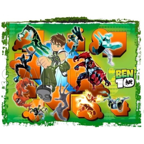Ben 10 T Shirt Iron on Transfer Decal #14 by www.shopironons.com