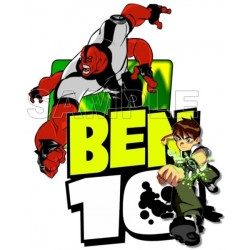 Ben 10 T Shirt Iron on Transfer Decal #4
