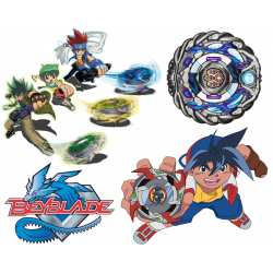 BeyBlade Iron on Transfers T Shirt Iron on Transfer Decal #1