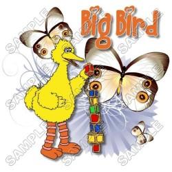 Big Bird Sesame street T Shirt Iron on Transfer Decal #15