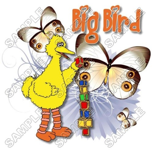 Big Bird Sesame street T Shirt Iron on Transfer Decal #15 by www.shopironons.com