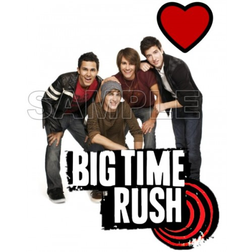 Big Time Rush T Shirt Iron on Transfer Decal #1 by www.shopironons.com