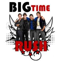 Big Time Rush T Shirt Iron on Transfer Decal #2