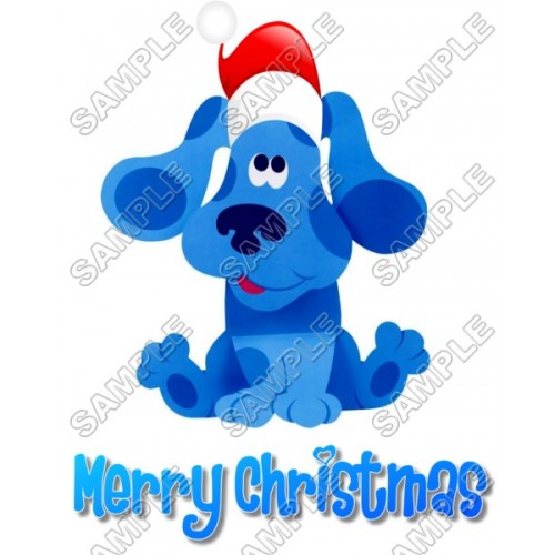 Blues Clues Christmas T Shirt Iron on Transfer Decal #60 by www.shopironons.com