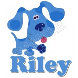 Blues Clues Personalized Custom T Shirt Iron on Transfer Decal #51