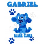 Blues Clues Personalized Custom T Shirt Iron on Transfer Decal #52 by www.shopironons.com