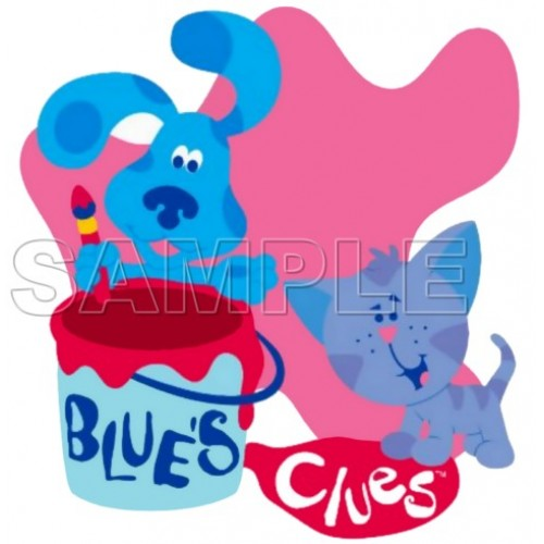 Blues Clues T Shirt Iron on Transfer Decal #3 by www.shopironons.com