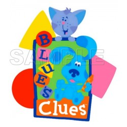 Blues Clues T Shirt Iron on Transfer Decal #4