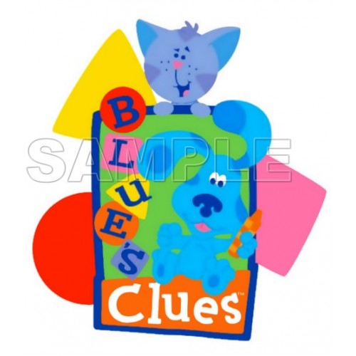 Blues Clues T Shirt Iron on Transfer Decal #4 by www.shopironons.com