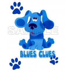 Blues Clues T Shirt Iron on Transfer Decal #6
