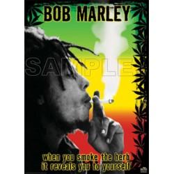 Bob Marley T Shirt Iron on Transfer Decal #1
