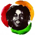 Bob Marley T Shirt Iron on Transfer Decal #3 by www.shopironons.com