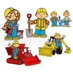 Bob the Builder T Shirt Iron on Transfer Decal #1 by www.shopironons.com