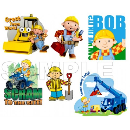Bob the Builder T Shirt Iron on Transfer Decal #2 by www.shopironons.com