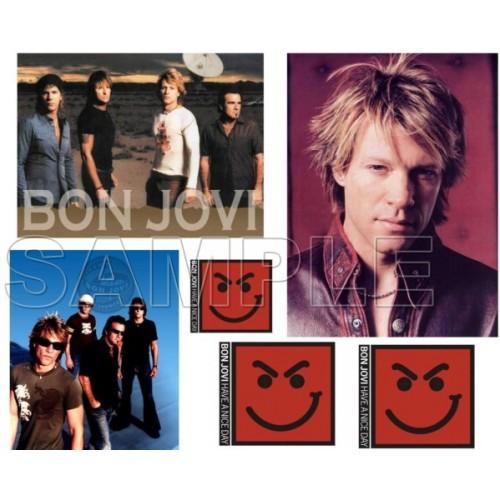 Bon Jovi T Shirt Iron on Transfer Decal #3 by www.shopironons.com