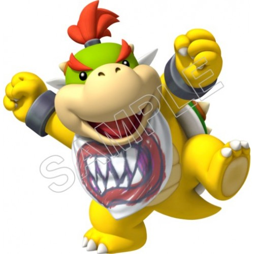 Bowser Jr. T Shirt Iron on Transfer Decal #23 by www.shopironons.com