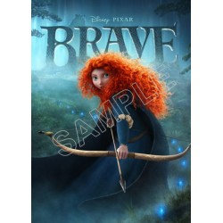 Brave (Disney) T Shirt Iron on Transfer Decal #1