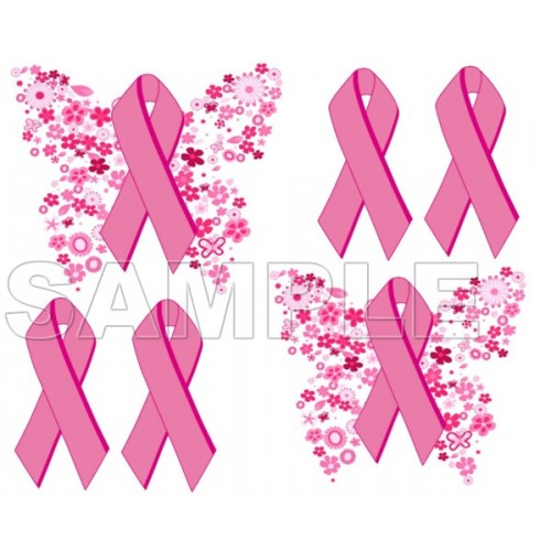 Breast Cancer Awareness T Shirt Iron on Transfer Decal #1 by www.shopironons.com
