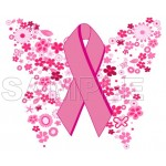 Breast Cancer Awareness T Shirt Iron on Transfer Decal #4 by www.shopironons.com
